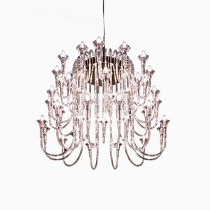Pyrex & Silver Octopus Chandelier from VGnewtrend
