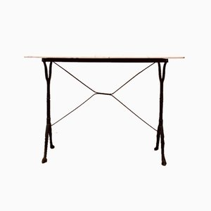 Rectangular Bistro Table, 1930s