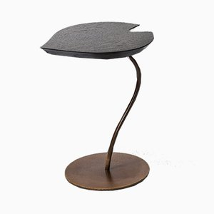 Oak & Iron Leaf Coffee Table by Patrizia Guiotto for VGnewtrend