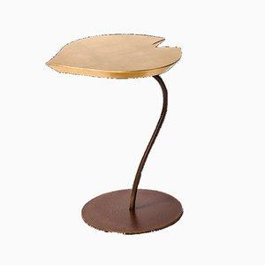 Blattförmiger Couchtisch aus Holz & Eisen von Patrizia Guiotto für VGnewtrend