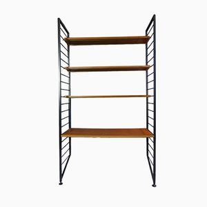 Ladderax Modular Shelving System by Robert Heal for Staples Cricklewood, 1960s