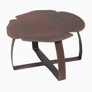 Table Basse Andy en Fer Couleur Rouille de VGnewtrend