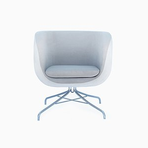 Grey Bauhaus Sytle Armchair, 1960s