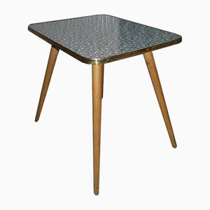 Grey Patterned Side Table, 1950s