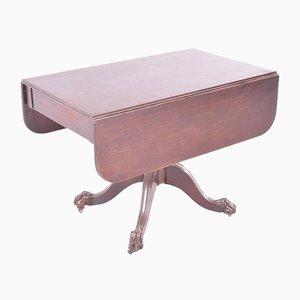 Table à Abattant Antique en Acajou