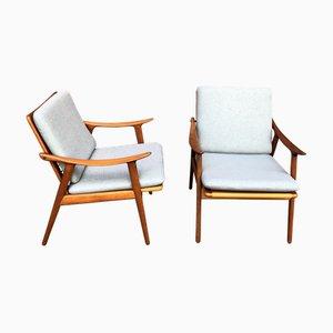Norwegian Teak Easy Chair by Fredrik Kayser, 1960s