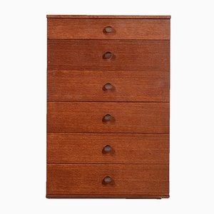 Mid-Century Teak Tallboy from Avalon