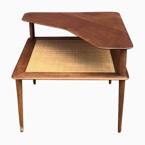 Mesa de centro Minerva de teca de Peter Hvidt & Orla Molgaard-Nielsen, años 60