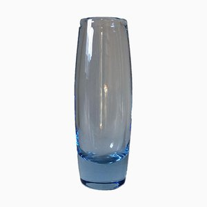 Glass Vase by Per Lütken for Holmegaard, 1960s