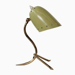 Petite Lampe de Bureau Vintage en Laiton, 1950s