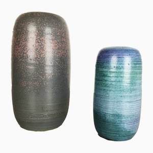 Ceramic Vases by Piet Knepper for Mobach, 1970s, Set of 2