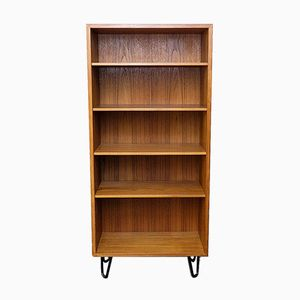 Narrow Teak Bookshelf from Omann Jun, 1960s