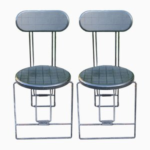 Cricket Folding Chairs by Andries Van Onck for Magis, 1980s, Set of 2
