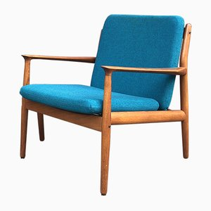 Vintage Danish Teak Easy Chair by Grete Jalk, 1950s