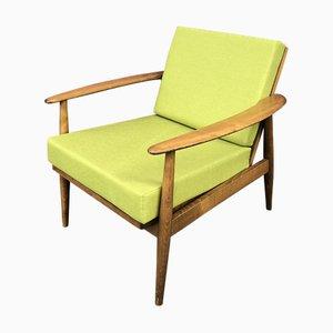 Vintage Danish Teak Easy Chair