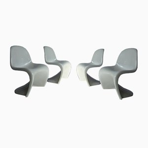 Chairs by Verner Panton for Herman Miller, 1970s, Set of 4