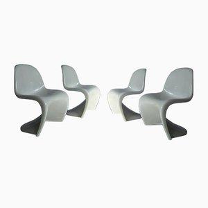 Vier Stühle von Panton für Herman Miller, 1970er, 4er Set