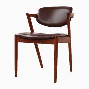 Armlehnstuhl aus Teak von Kai Kristiansen, 1960er