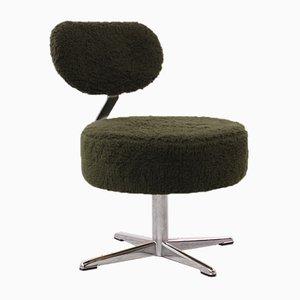 Chaise d'Appoint Vintage Verte, 1970s