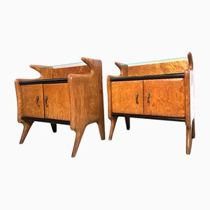Vintage Italian Night Stands, Set of 2