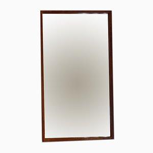 Specchio in palissandro brasiliano di Aksel Kjersgaard, anni '60