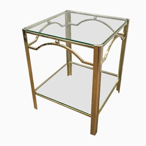Table d'Appoint en Bronze de Jacques Quinet, 1970s