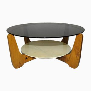 Coffee Table by Hugues Poignant, 1960s