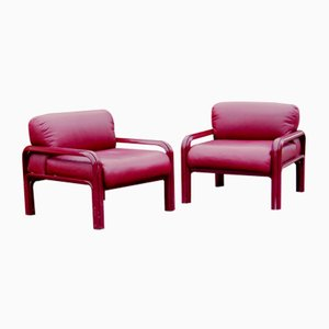 Model 54A Armchairs by Gae Aulenti for Knoll, 1970s, Set of 2