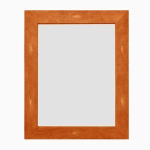 Eco-Galuchat Brigitte Mirror from Cupioli Luxury Living
