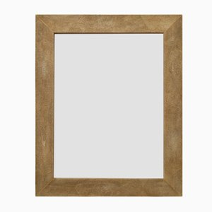 Brigitte Eco-Galuchat Leather Mirror from Cupioli Luxury Living