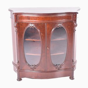 Antique English Display Cabinet