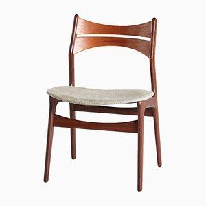 Chaise d'Appoint Modèle 310 en Teck par Erik Buch, Danemark, 1960s