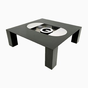 Tebe Coffee Table with Ashray by Giovanni Offredi for Saporiti, 1970s
