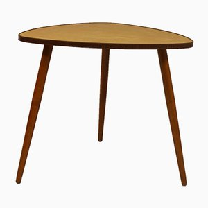 Scandinavian Teak Tripod Coffee Table, 1960s
