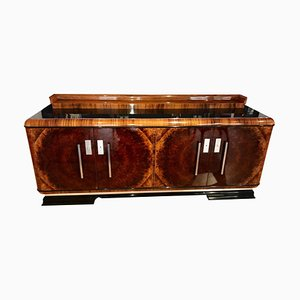 Art Deco German Walnut Veneer Sideboard, 1930s