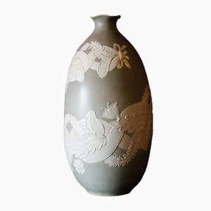 Vase par Giovanni Gariboldi pour Richard Ginori, 1950s