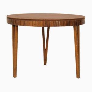 Tavolino da caffè in legno di ciliegio, anni '50