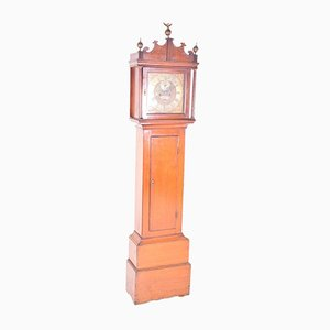 Antique Grandfather Clock by Daniel Bing