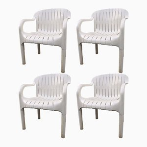 Garden Chairs by Pierre Paulin for Allibert, 1970s, Set of 4