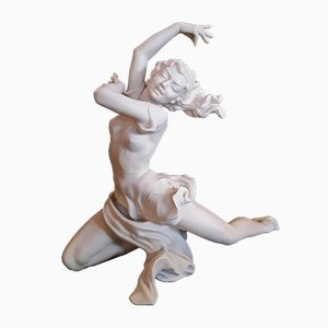 Figura Finale vintage de porcelana de Karl Tutter para Hutschenreuther