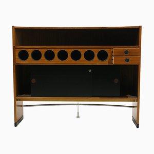 Mueble bar de teca de Dyrlund, años 70