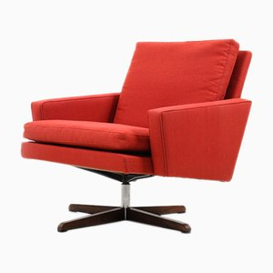 Mid-Century Danish Swivel Lounge Chair