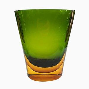 Mid-Century Vase von Flavio Poli für Seguso, 1950er