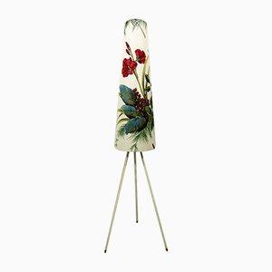 Dreibeinige botanische Stehlampe, 1950er