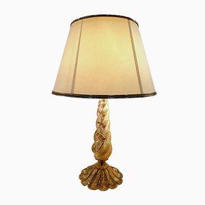 Lampada da tavolo Mid-Century di Barovier & Toso, anni '50