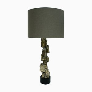 Brutalist Table Lamps by Maurizio Tempestini for Laurel, 1970s, Set of 2