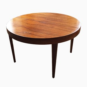 Round Mid-Century Danish Rosewood Table