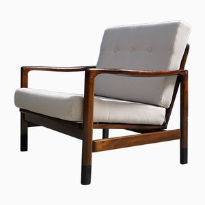 Mid-Century Club Armchairs by Zenon Baczyk, Set of 2