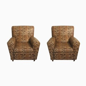 Vintage Armchairs, Set of 2