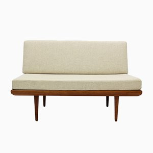 Teakwood Minerva Sofa by Hvidt & Molgaard for France & Son, 1960s